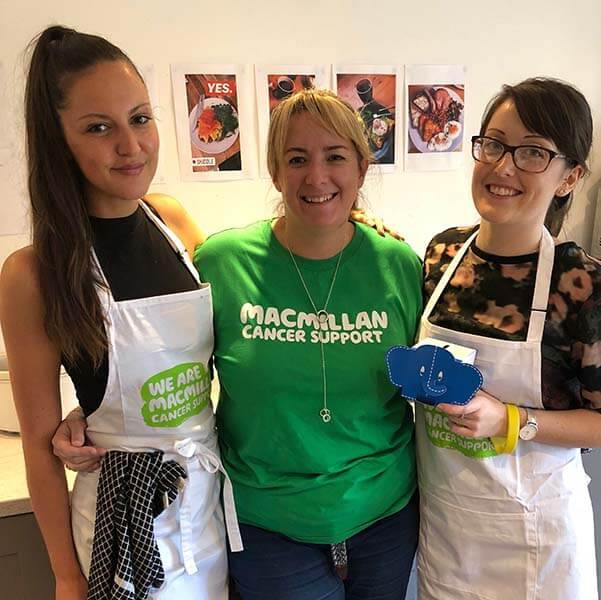 Big Macmillan Breakfast & Charity Launch day