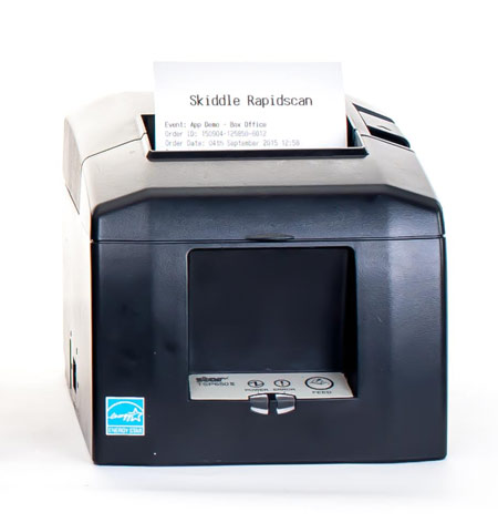 Star TSP654IIBTi Bluetooth POS Thermal Receipt Printer title=